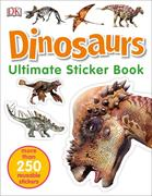 Ultimate Sticker Book: Dinosaurs: More Than 250 Reusable Stickers