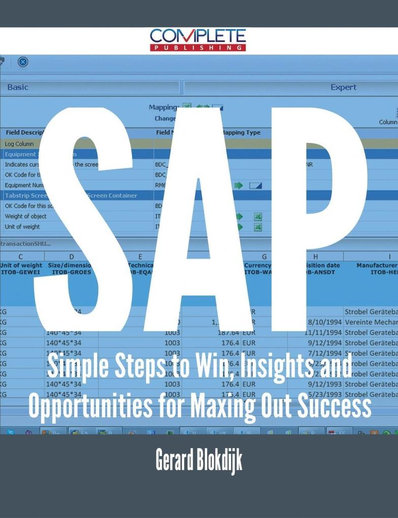 SAP - Simple Steps to Win, Insights and Opportu...