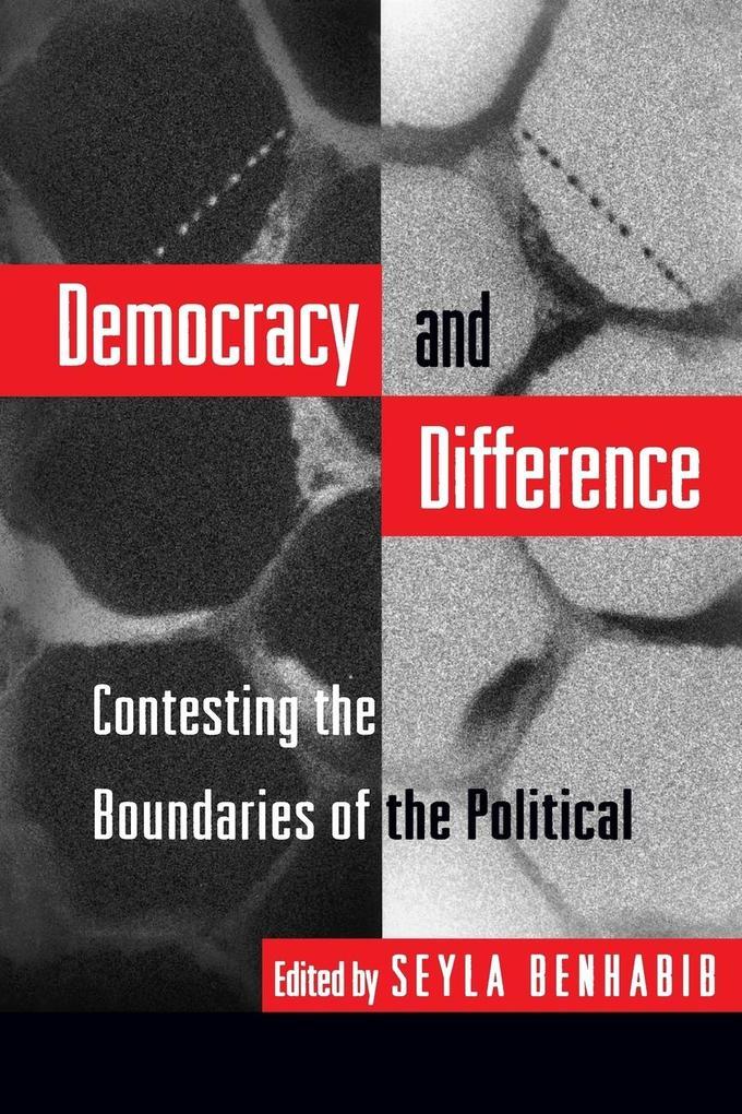 Democracy and Difference als Taschenbuch