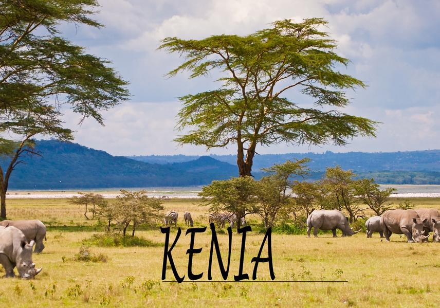 Bildband Kenia als Buch
