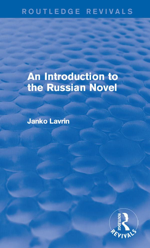 Introduction to the Russian Novel als eBook Dow...