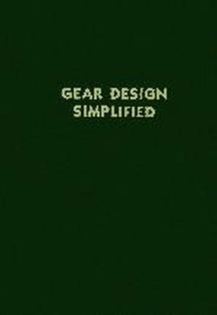 Gear Design Simplified als Taschenbuch