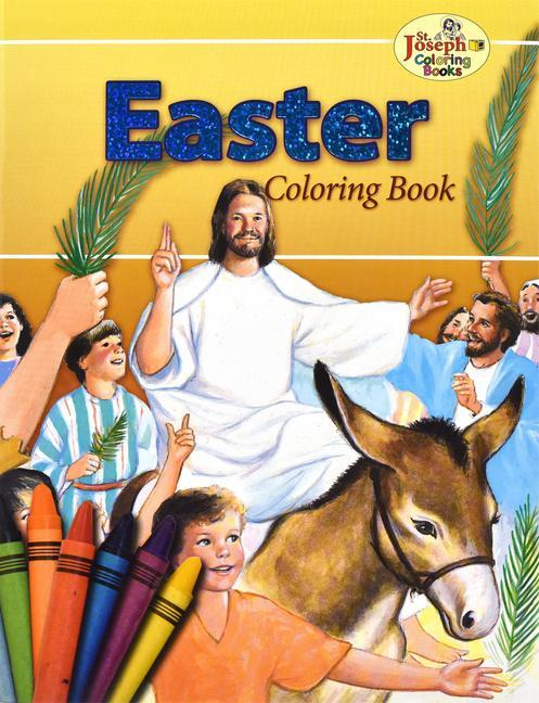 Coloring Book about Easter als Taschenbuch