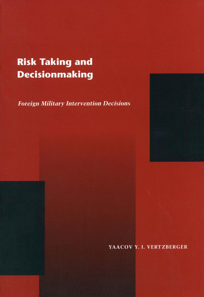 RISK TAKING & DECISION MAKING als Taschenbuch