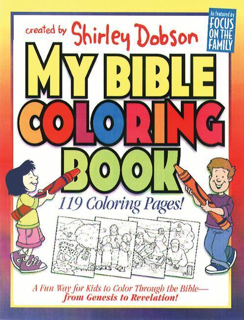 My Bible Coloring Book als Taschenbuch