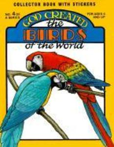 God Created the Birds of the World [With Stickers] als Taschenbuch