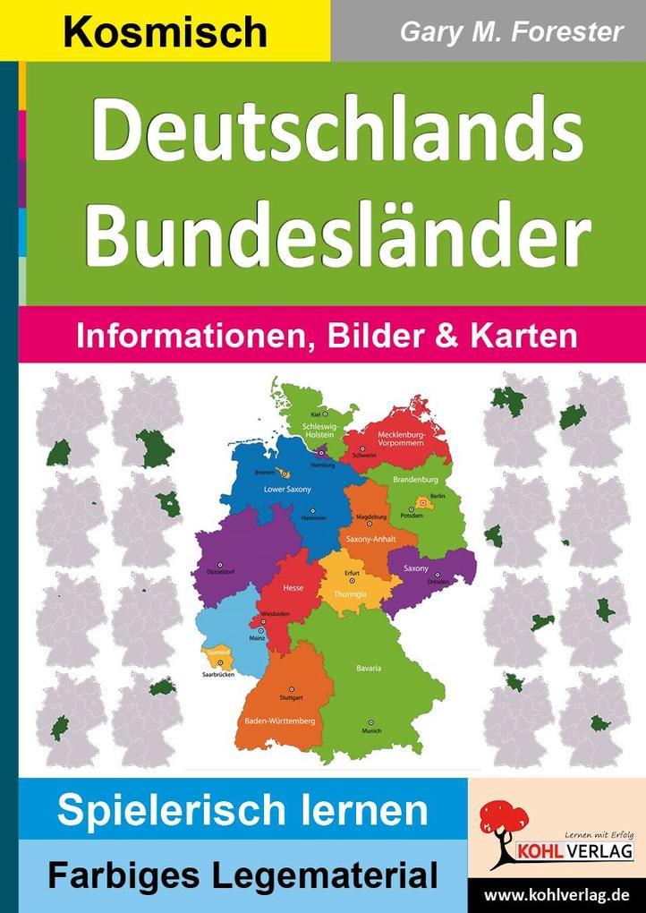 Deutschlands Bundesländer als Buch von Gary M. ...