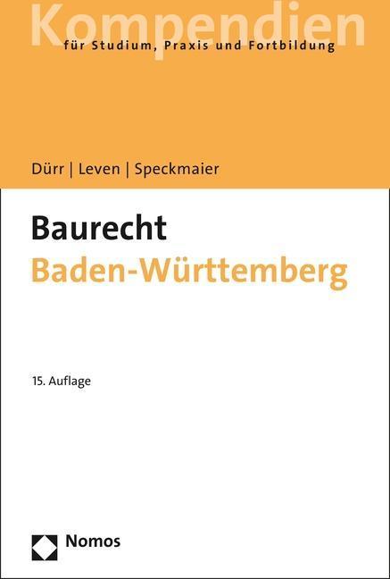 Baurecht Baden-Württemberg als Buch von Hansjoc...