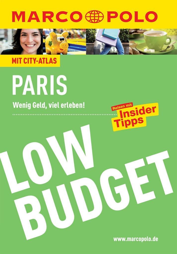 MARCO POLO Reiseführer Low Budget Paris als eBo...