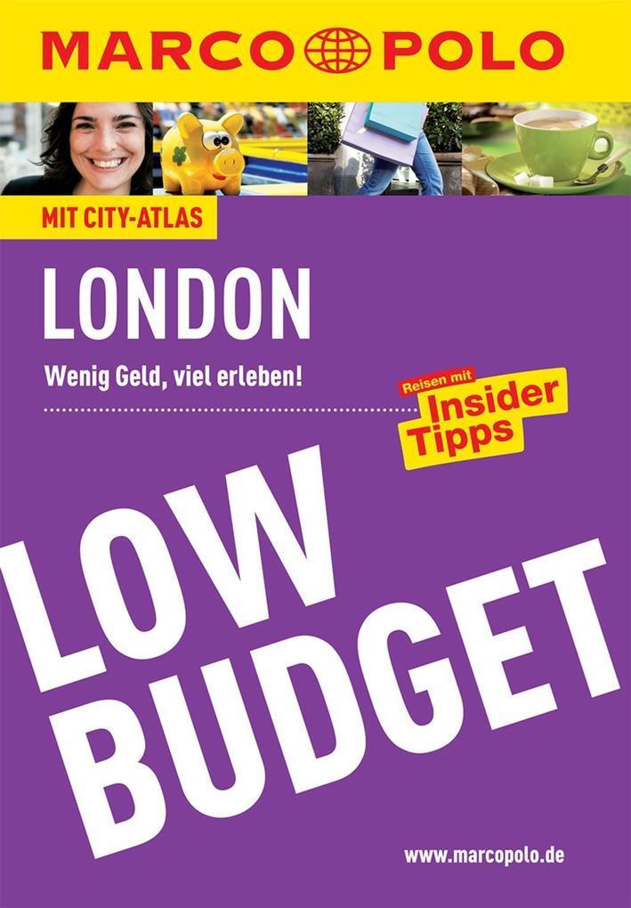 MARCO POLO Reiseführer Low Budget London als eB...