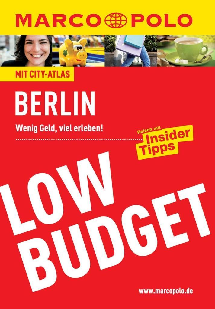 MARCO POLO Reiseführer Low Budget Berlin als eB...