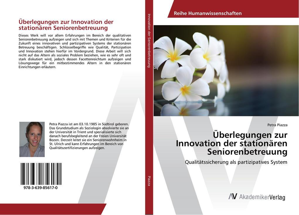 Überlegungen zur Innovation der stationären Sen...