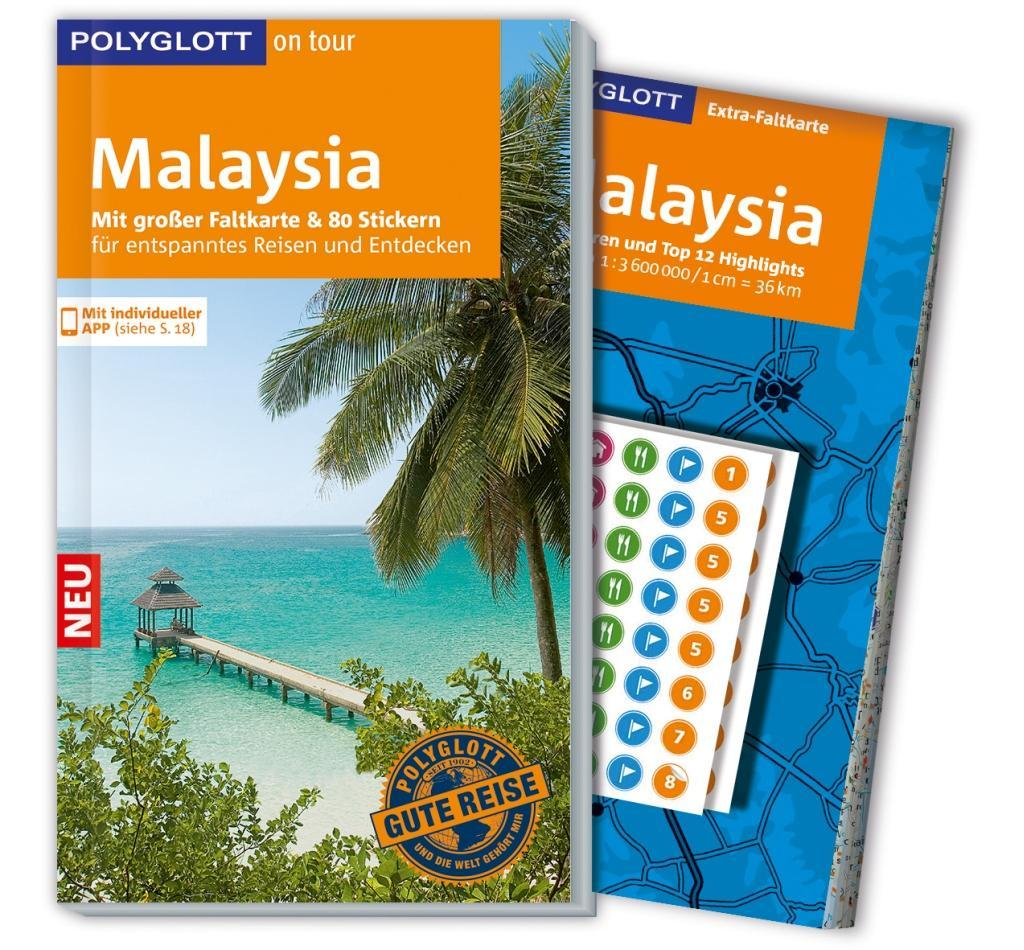 POLYGLOTT on tour Reiseführer Malaysia als Buch...