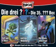 Die drei ??? Box 35. Folgen 104 - 106 (drei Fragezeichen) 3 CDs