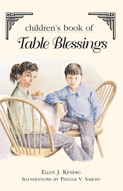 Children's Book of Table Blessings als Taschenbuch