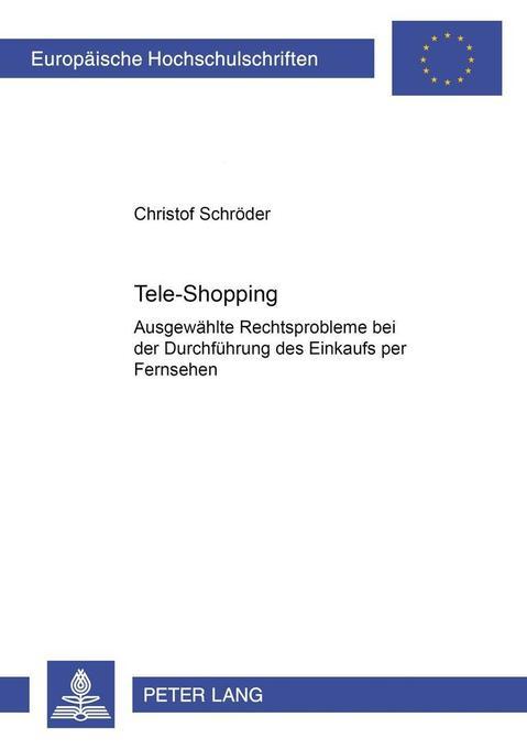 Tele-Shopping als Buch von Christof Schröder