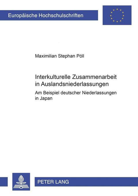 Interkulturelle Zusammenarbeit in Auslandsniede...