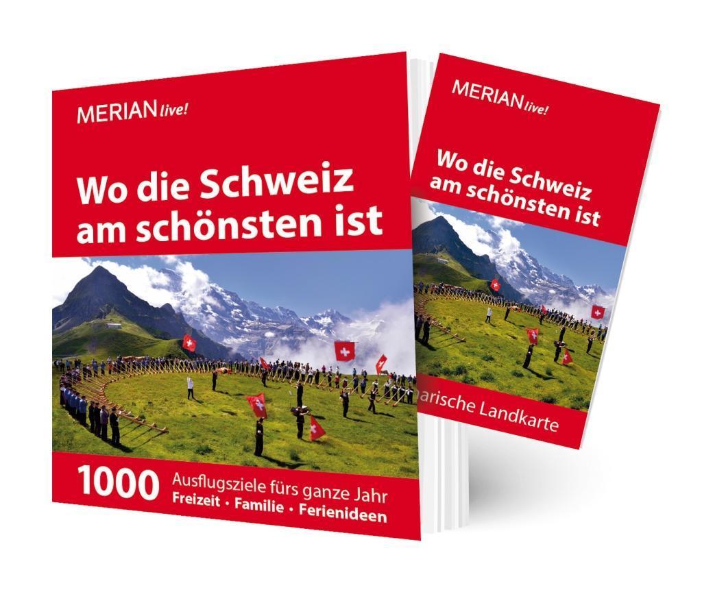 MERIAN live! Reiseführer Wo die Schweiz am schönsten ist als Mängelexemplar