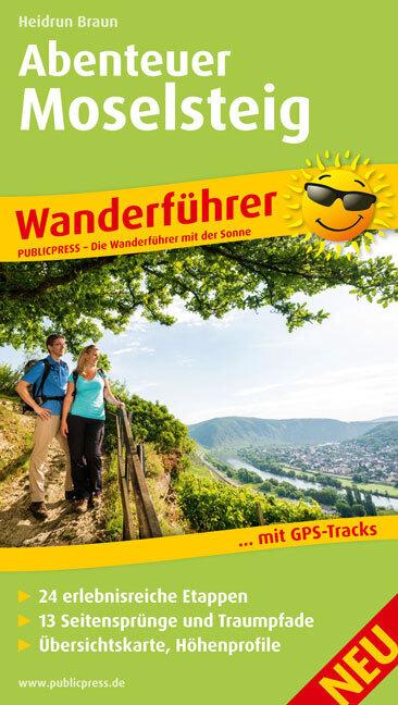 Wanderführer Abenteuer Moselsteig als Taschenbu...
