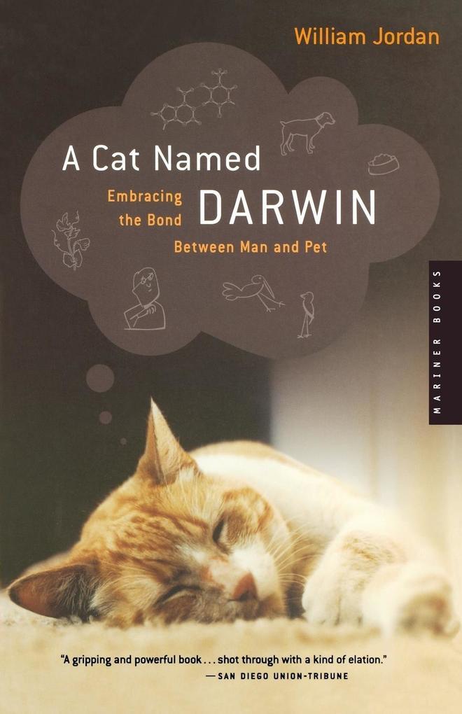 A Cat Named Darwin: Embracing the Bond Between Man and Pet als Taschenbuch