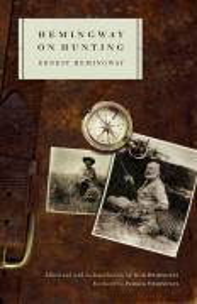 Hemingway on Hunting als Taschenbuch