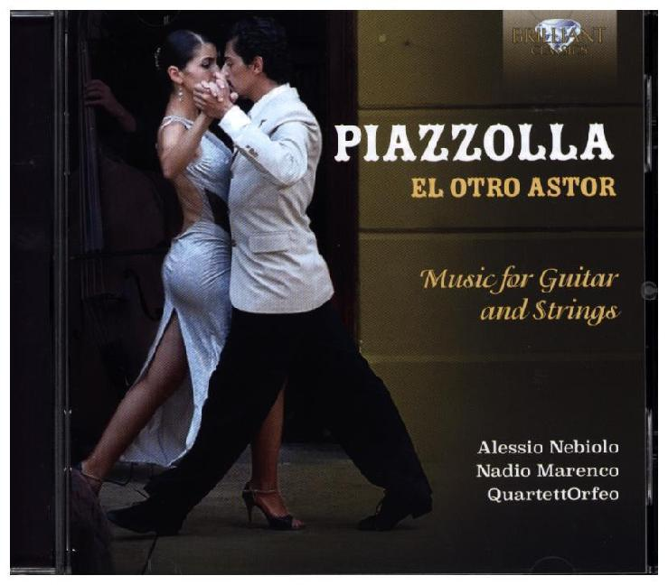 El Otro Astor-Music For Guitar And Strings