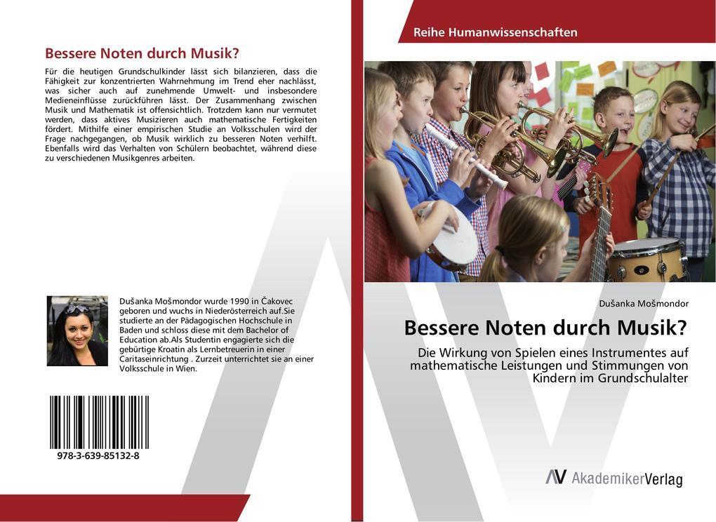 Bessere Noten durch Musik? als Buch von DuSanka...