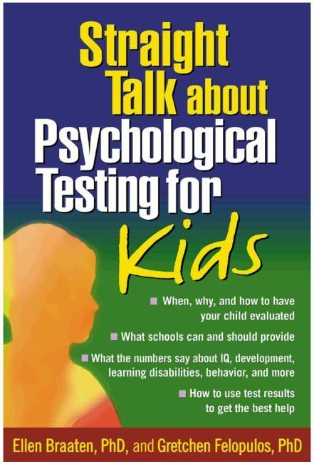 Straight Talk about Psychological Testing for Kids als Taschenbuch