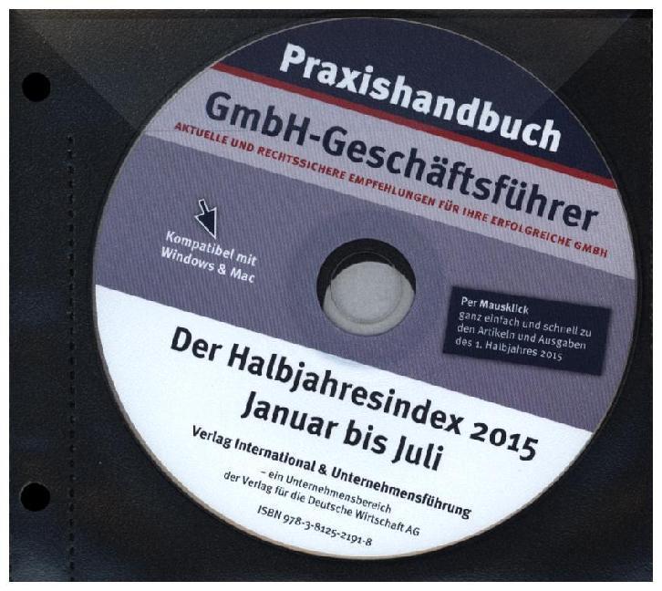 Praxishandbuch GmbH-Geschäftsführer - Der Halbj...