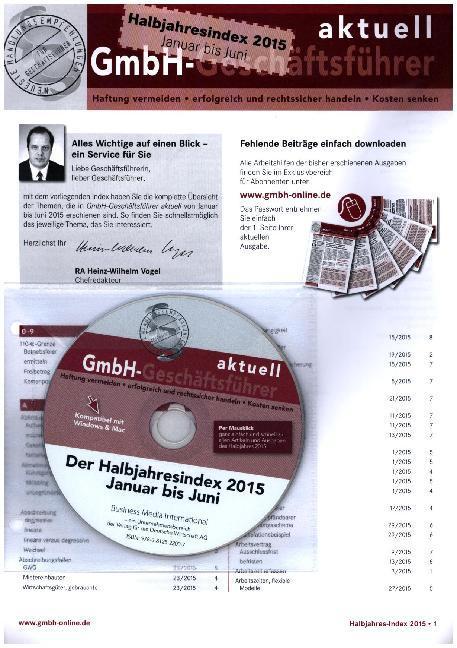 GmbH-Geschäftsführer aktuell - Der Halbjahresin...