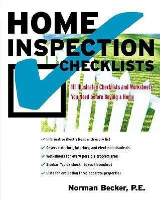 Home Inspection Checklists: 111 Illustrated Checklists and Worksheets You Need Before Buying a Home als Taschenbuch