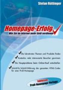 Homepage- Erfolg als Buch