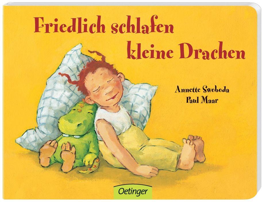 Friedlich schlafen kleine Drachen als Buch