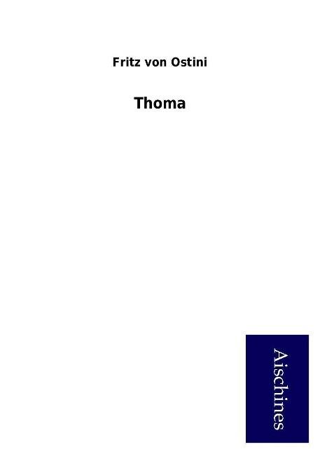 Thoma als Buch von Fritz von Ostini