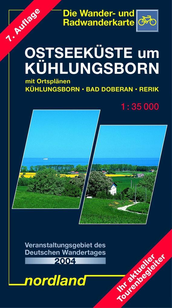 Ostseeküste um Kühlungsborn 1 : 35 000 als Buch