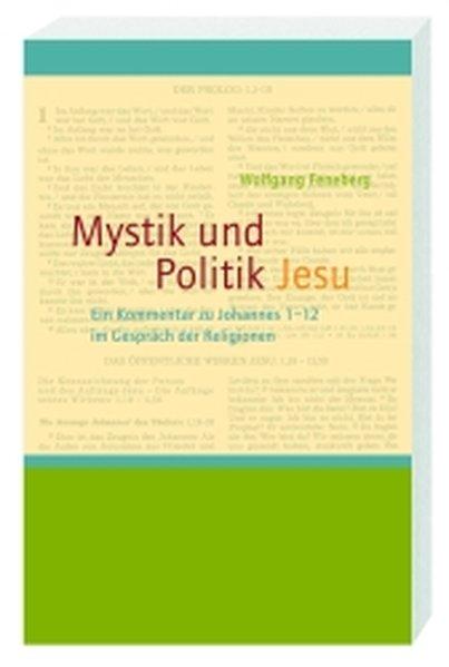 Mystik und Politik Jesu als Buch