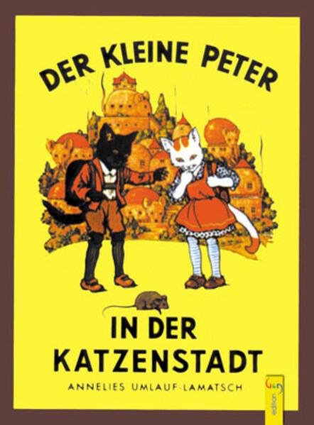 Der kleine Peter in der Katzenstadt als Buch
