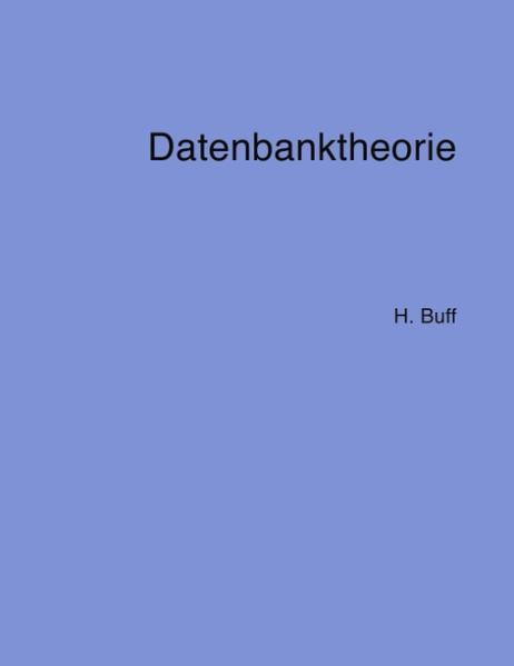 Datenbanktheorie als Buch