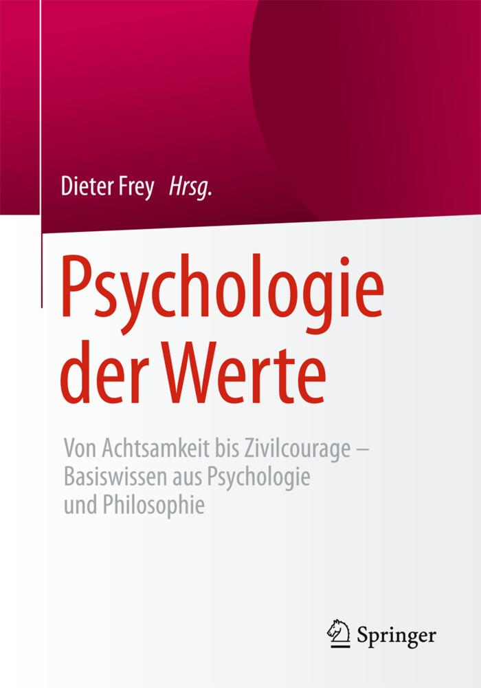Psychologie der Werte als Buch von