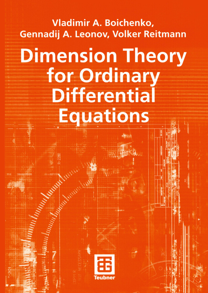 Dimension Theory for Ordinary Differential Equations als Buch