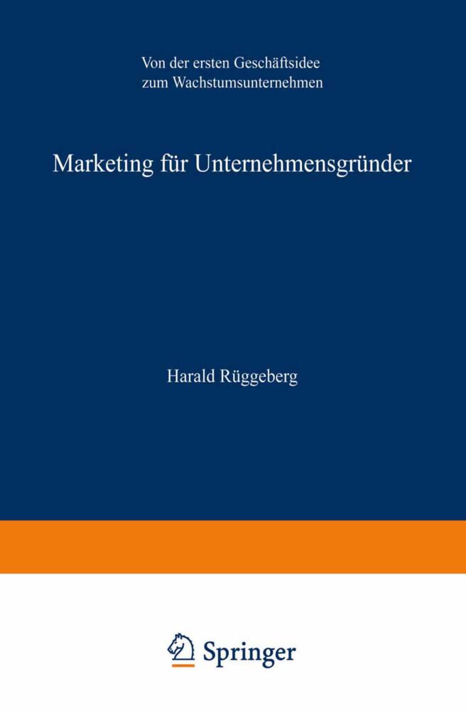 Marketing für Unternehmensgründer als Buch