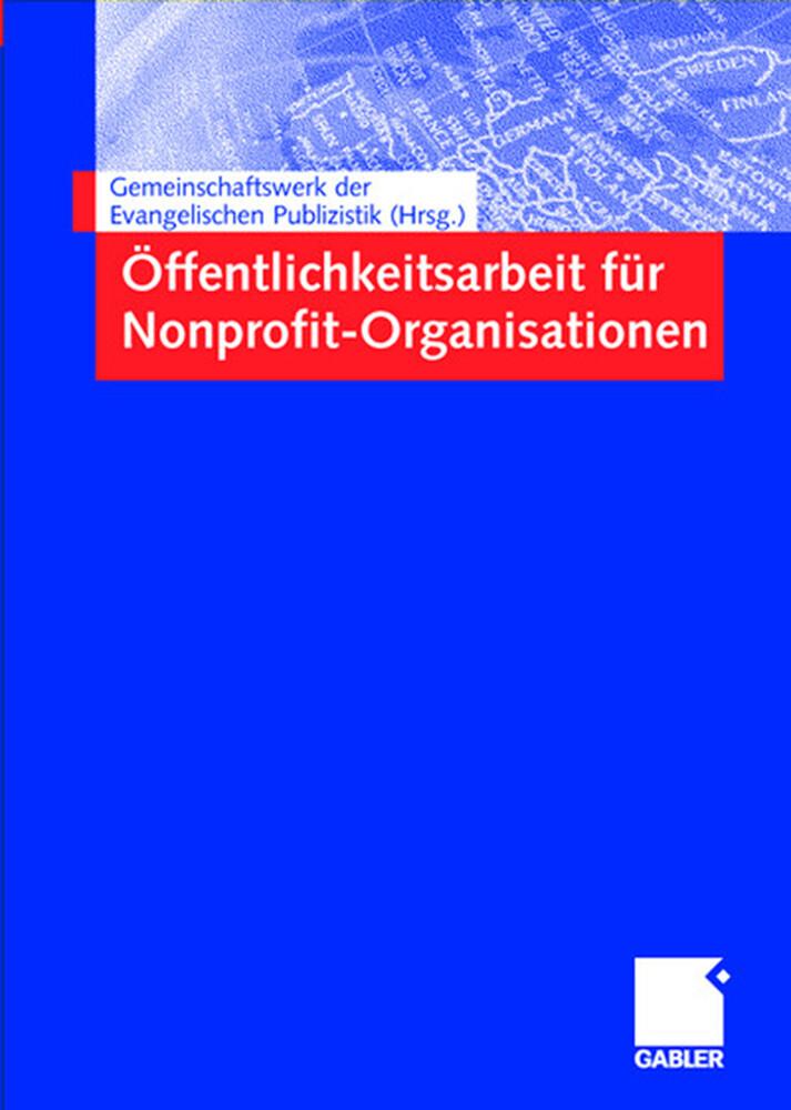 Öffentlichkeitsarbeit für Nonprofit-Organisationen als Buch