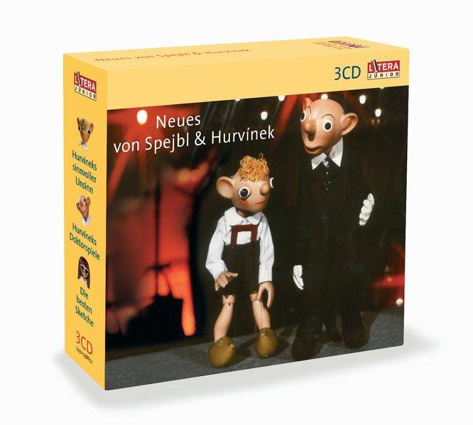 Neues von Spejbl und Hurvinek. 3 CDs als Hörbuch