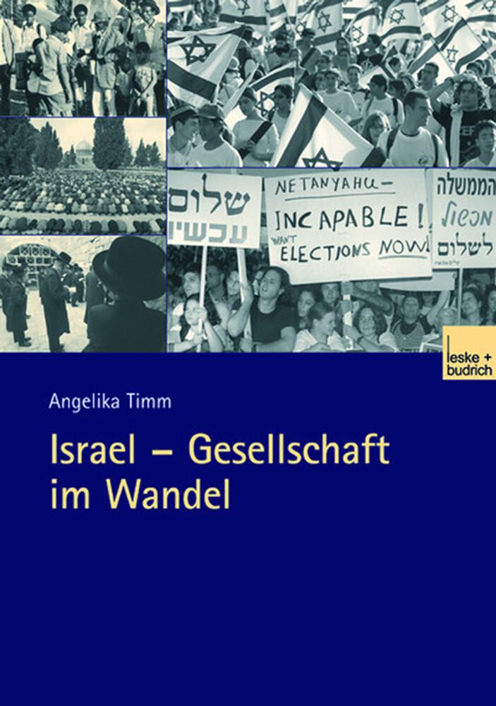 Israel - Gesellschaft im Wandel als Buch
