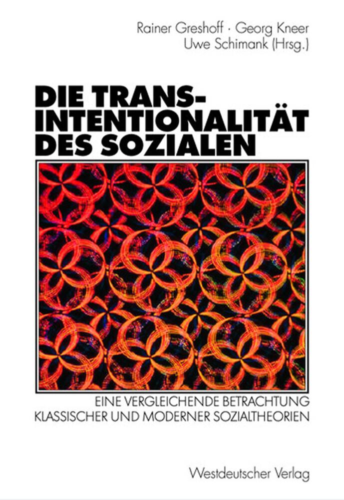 Die Transintentionalität des Sozialen als Buch