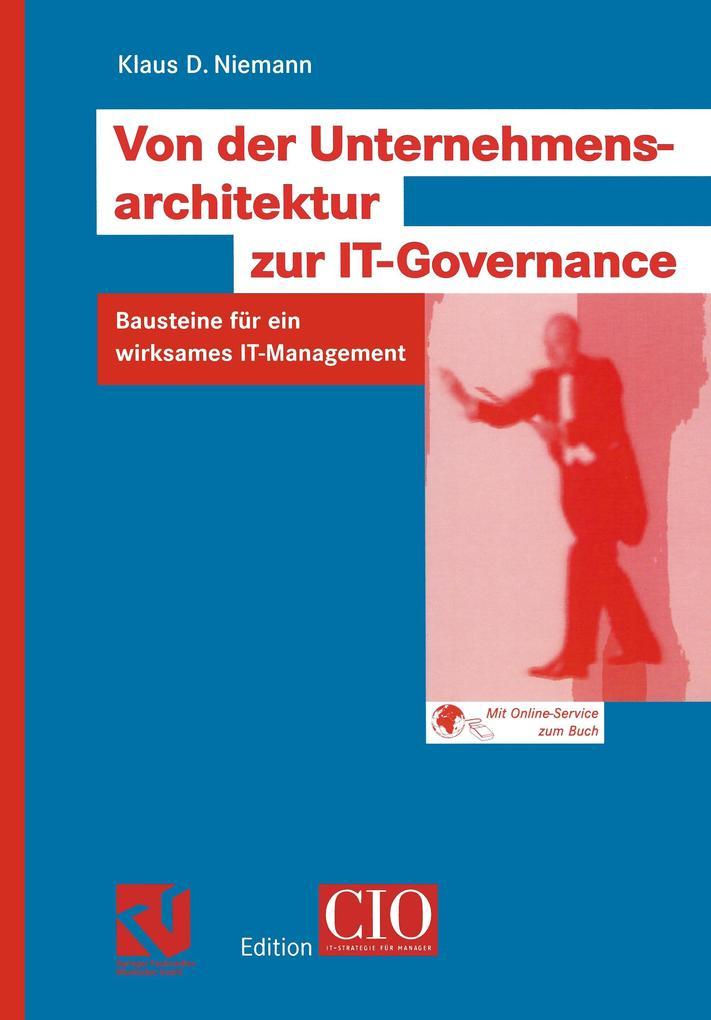 Von der Unternehmensarchitektur zur IT-Governance als Buch