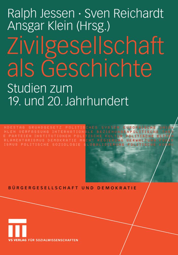 Zivilgesellschaft als Geschichte als Buch