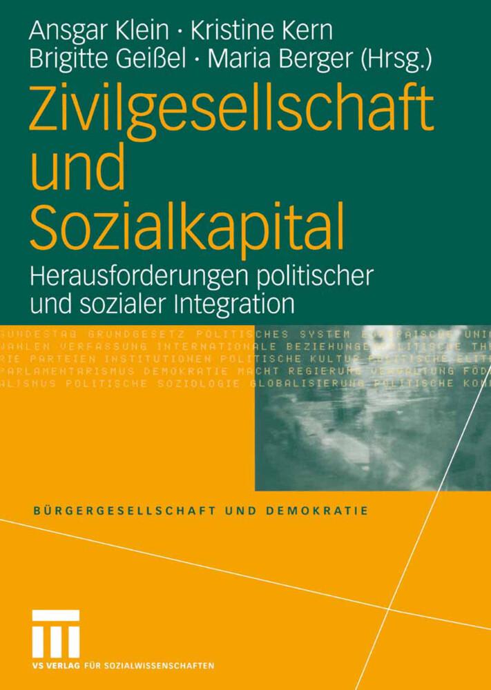 Zivilgesellschaft und Sozialkapital als Buch