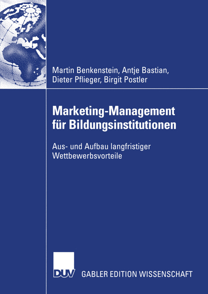 Marketing-Management für Bildungsinstitutionen als Buch