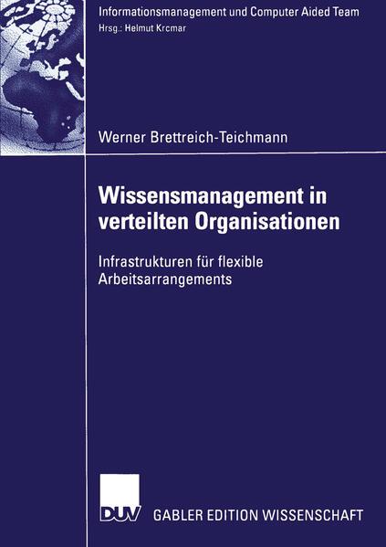 Wissensmanagement in verteilten Organisationen als Buch